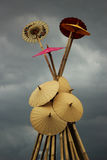 Regenschirm, Zusammenfassung Lizenzfreies Stockbild