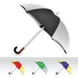 Regenschirmansammlung Stockbild