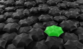 Regenschirme Lizenzfreie Stockfotografie