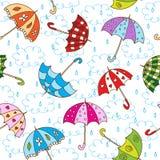 Regenschirme Lizenzfreies Stockbild