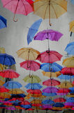 Regenschirme Stockbild