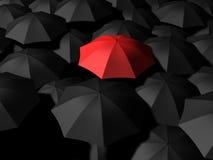 Regenschirme stock abbildung