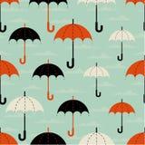 Regenschirme der unterschiedlichen Größe stock abbildung