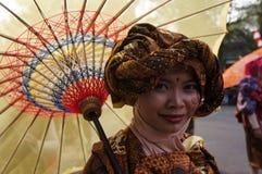 Regenschirmfestival Stockfoto