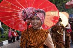 Regenschirmfestival Stockbild