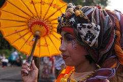 Regenschirmfestival Lizenzfreie Stockfotos