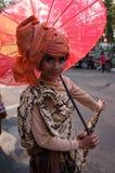 Regenschirmfestival Lizenzfreies Stockfoto