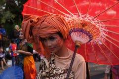 Regenschirmfestival Lizenzfreie Stockbilder