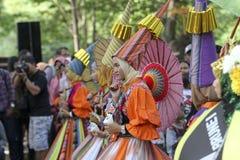 Regenschirmfestival Lizenzfreie Stockfotografie