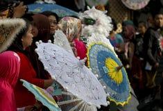 Regenschirmfestival Stockfotografie
