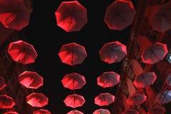 Regenschirmhimmel Lizenzfreie Stockfotografie