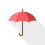 Regenschirmikonenvektor Lizenzfreie Stockbilder