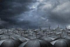 Regenschirmkonzept Lizenzfreie Stockfotografie