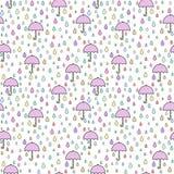 Regenschirmmuster Lizenzfreie Stockfotos