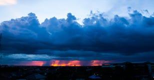 Regensturm Lizenzfreie Stockfotografie