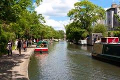RegentÂs kanal Arkivbild