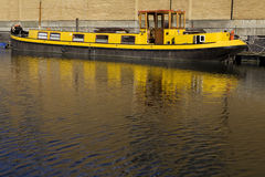 Regent canal boat in Camden Lock, London Royalty Free Stock Image