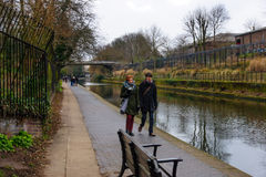 Regent Canal, London Royalty Free Stock Photo