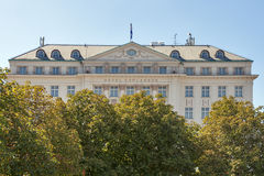 The Regent Esplanade Hotel in Zagreb, Croatia. Royalty Free Stock Image
