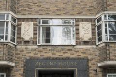 Regent House, Brighton, R-U photographie stock libre de droits