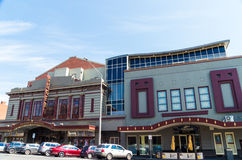 Regent Multiplex cinema in Ballarat, Australia. The Regent Multiplex cinema on Lydiard Street in central Ballarat, a large regional town in Australia, north-west Royalty Free Stock Image