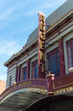 Regent Multiplex cinema in Ballarat, Australia. The Regent Multiplex cinema on Lydiard Street in central Ballarat, a large regional town in Australia, north-west Royalty Free Stock Images