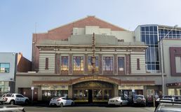 The Regent Cinema, Ballarat, Victoria, Australia. The Regent Multiplex cinema building in the city of Ballarat, Victoria, Australia Royalty Free Stock Image
