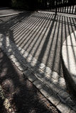 Regent-Park-Gatter-Schatten Stockfoto