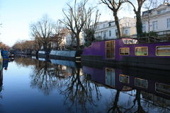 Regent's canal Royalty Free Stock Image