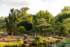 Regent's Park, one of the Royal Parks of London. Royalty Free Stock Photo