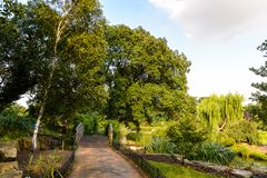 Regent's Park, one of the Royal Parks of London. Royalty Free Stock Images