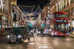 Regent`s street in London Royalty Free Stock Photos