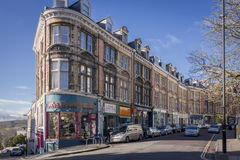 Regent Street, Clifton, Bristol, UK Stock Images