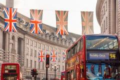 Regent Street London Royaltyfri Foto