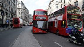 Regent Street, London stock video footage