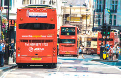 Regent Street, London. Royalty Free Stock Image