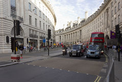 Regent Street in London Stock Photos