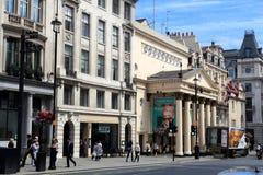 Regent Street, Londres Fotografía de archivo