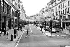 Regent Street, Londres Imagem de Stock