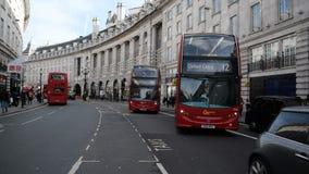 Regent Street, Londres banque de vidéos