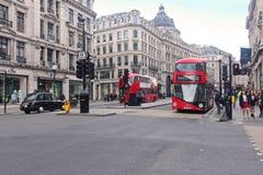 Regent Street traffic Royalty Free Stock Photography