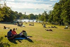 Regenta park Obrazy Royalty Free