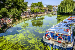 Regents Canal in Camden London Royalty Free Stock Image