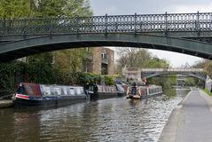 Regents Canal, London Royalty Free Stock Images