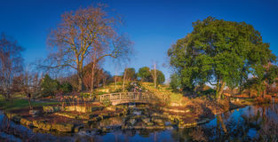 Regents Park panorama Stock Images