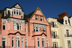 Regentschafts-Häuser Stockbilder