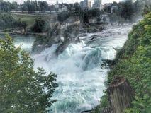Regenval Zwitserland royalty-vrije stock foto's