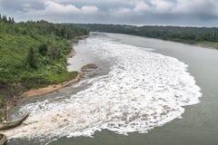 Regenwasserabfluss Stockbild