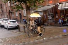 Regenweer royalty-vrije stock foto