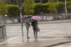 Regenweer royalty-vrije stock fotografie